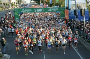 Gold Coast Airport Marathon start